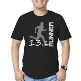 Men's Fitted Marathoner T-Shirt (dark)