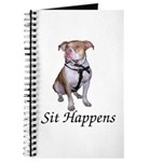 Pit Bull Sit Happens Journal