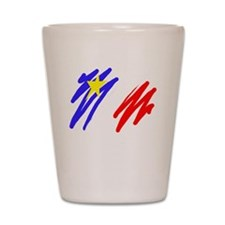 Acadian Shot Glass
