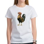 Rooster Chicken (Front) Women's T-Shirt