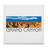 Cute Petrified forest national park Tile Coaster
