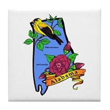 Alabama Tile Coaster