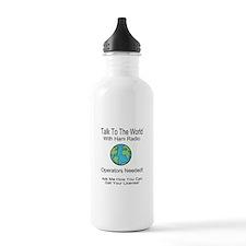 Talk To The World Ham Radio Water Bottle