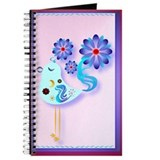 Spring Blue Bird Of Happiness Journal