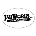 Jahworks.org Magazine Sticker (Oval)