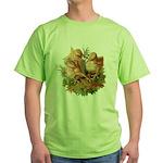 Chicken Chicks Green T-Shirt