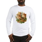 Chicken Chicks (Front) Long Sleeve T-Shirt