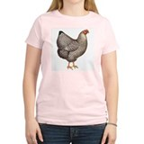 Chicken Hen (Front) Women's Pink T-Shirt