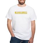butt White T-Shirt