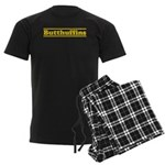 butt Men's Dark Pajamas