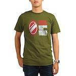 80's slang Organic Men's T-Shirt (dark)