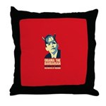 antiobama Throw Pillow
