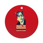 antiobama Ornament (Round)