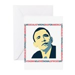 antiobama Greeting Cards (Pk of 20)