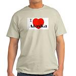 I Love Alaska! Light T-Shirt