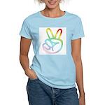 Rainbow Pieces Women's Pink T-Shirt