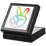 Rainbow Pieces Keepsake Box