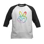Rainbow Pieces Kids Baseball Jersey
