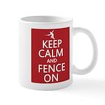 keep clam and fence on Mug