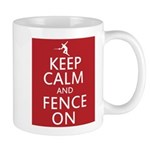 keep clam and fence on Mug