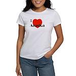I Love Alaska! Women's T-Shirt