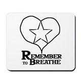 Cute Breath Mousepad