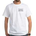 White Short Sleeve Mulsanne's Logo T-Shirt