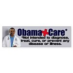 Anti Obamacare Sticker (Bumper)