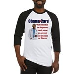 Anti Obamacare Baseball Jersey