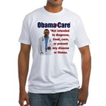 Anti Obamacare Fitted T-Shirt