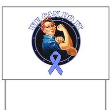 Stomach Cancer WeCanDoIt Yard Sign