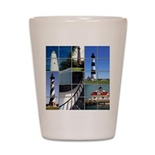Outer Banks Lighthouses Shot Glass