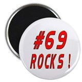 69 Rocks ! Magnet