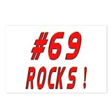 69 Rocks ! Postcards (Package of 8)