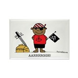 Pirate Boy 2 Rectangle Magnet