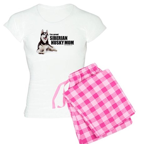 Siberian Husky Mom Women's Light Pajamas
