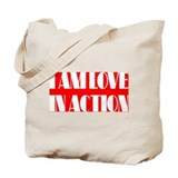 LOVE IN ACTION Tote Bag