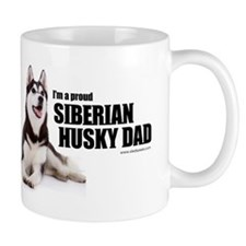 Siberian Husky Dad Coffee Mug