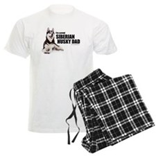 Siberian Husky Dad Men's Pajamas