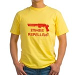 Zombie Repellent Yellow T-Shirt