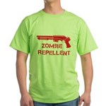 Zombie Repellent Green T-Shirt