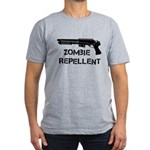 Zombie Repellent Men's Fitted T-Shirt (dark)