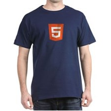 Html5 Center Logo T-Shirt
