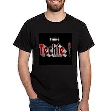 I am a Techie T-Shirt Large Image