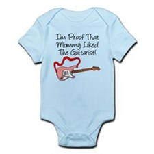 Proof Mommy Liked Guitarist P Onesie