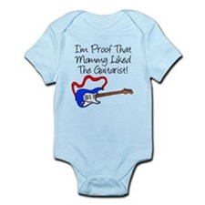 Proof Mommy Liked Guitarist B Infant Bodysuit