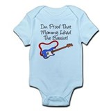 Proof Mommy Liked Bassist Blu Infant Bodysuit
