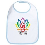 LGBTQ Lotus Flower Bib