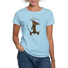 Brindle Greyhound IAAM T-Shirt