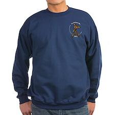 Brindle Greyhound IAAM Pocket Sweatshirt